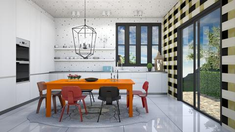 Not Funny Fun Kitchen - Modern - Kitchen - by 3rdfloor