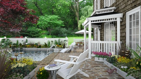 Design 307 Garden Terrace - Garden - by Daisy320