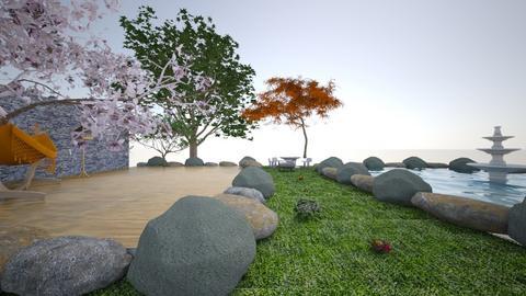 waad - Modern - Garden - by waad702