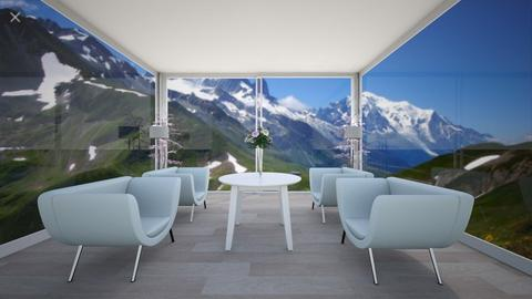 mountain view - Minimal - Living room - by R A I N A