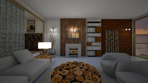 Wooden it be nice - Living room - by CCPompey
