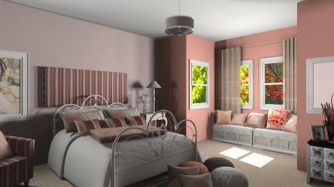 La Vie En Rose - Vintage - Bedroom - by bia_freitas