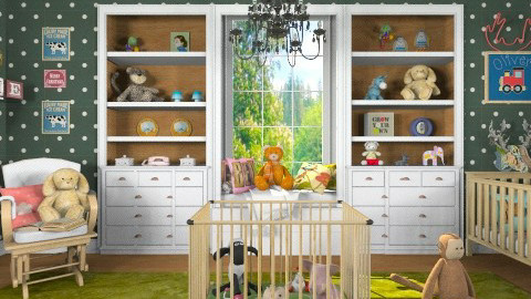 Modern Vintage Nursery - by ladyfakessi