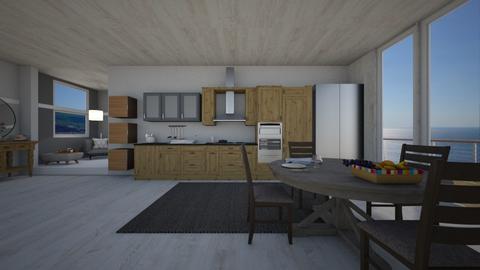 artisian kitchen - Kitchen - by elLe94