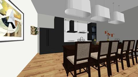room 2 - Kitchen - by leishlanis100