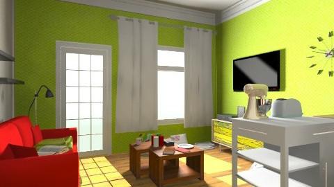 AP Living Room 2 - Living room - by yellowsubmarine