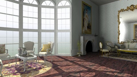 Salon des Fleurs - Classic - Living room - by Ukulele