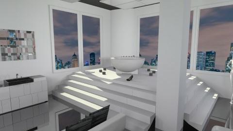 Modern Bathroom - Modern - Bathroom - by StefySlayer
