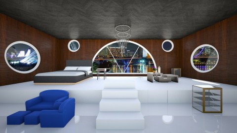 deluxe ensuite  - Modern - by Alex Jacobs_152
