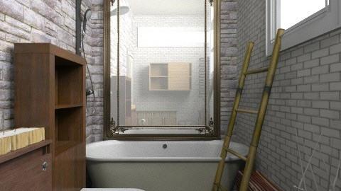 natural - Rustic - Bathroom - by lakacs28