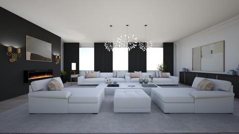 Formal living room - Living room - by EllaWinberg