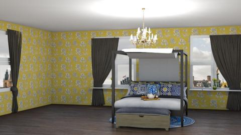 To be continued - Vintage - Bedroom - by aestheticdiabetic
