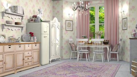 Shabby Kitchen - Vintage - Kitchen - by DeborahArmelin