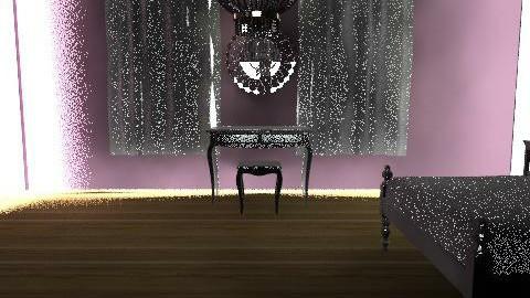 Purple Bedroom - Glamour - Bedroom - by obiobi