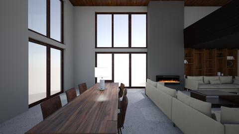 Loft - Living room - by Sadiesct