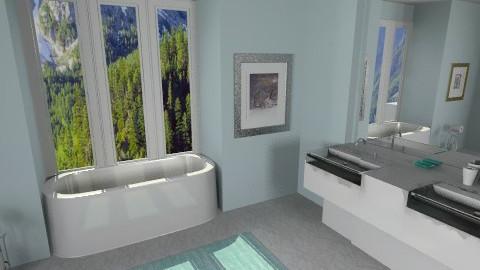 bathrooommm - by rosiedoll