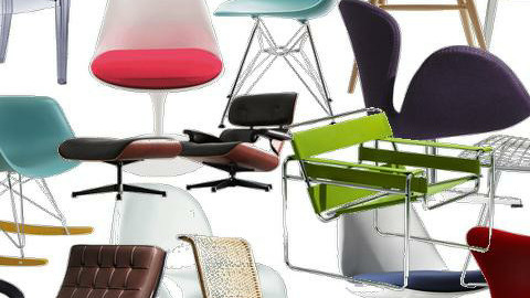 i love chairs! - Retro - by creo_forma