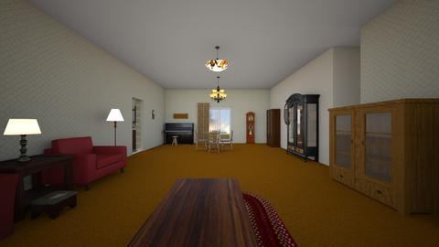 Family Home Parents - Living room - by WestVirginiaRebel