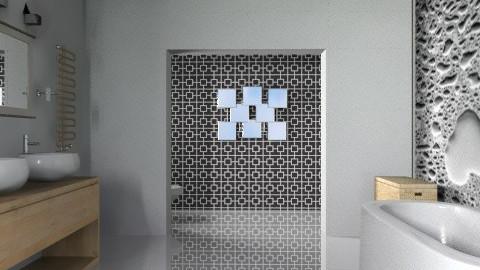 Minimalist Style Bath - Minimal - Bathroom - by Open Spaces
