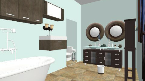bathroom - Glamour - Bathroom - by misslynn170