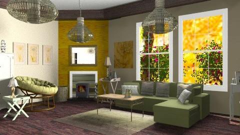 Bell - Country - Living room - by mrschicken