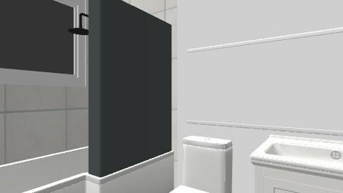 main bath - Retro - Bathroom - by pparnes