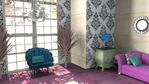 Peakock Living Room - Rustic - Living room - by emilypinnock