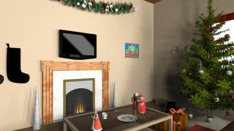 Christmas living room - Living room - by jessicalove