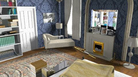 Gossip Girl Blair Room - Vintage - Bedroom - by Lenii