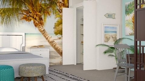Beach House 4 - Modern - Bedroom - by millerfam