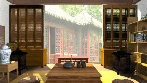 chinese dynasty - Vintage - Living room - by erikawong0819