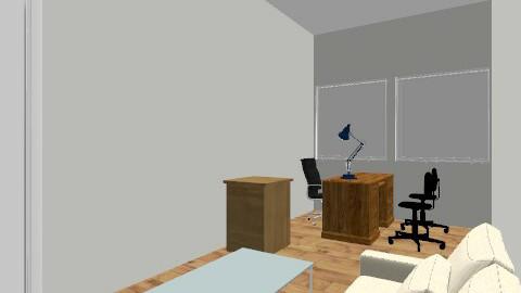 Richard's office - Retro - Office - by AngeK