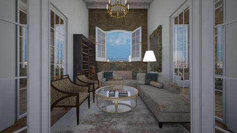 Siamo noi sala lettura - Living room - by rebsrebsmmg