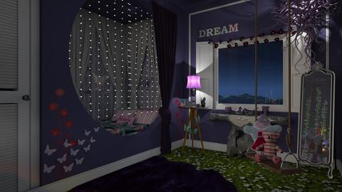 fairy dust - Feminine - Kids room - by donella