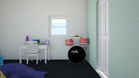 YAS - Retro - Kids room - by dinyroar