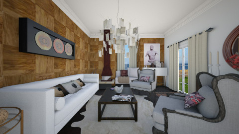 LR - Glamour - Living room - by giulygi