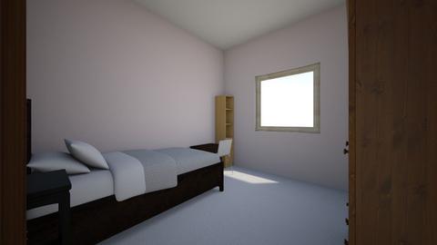current bedroom 1 - Bedroom - by yasminez