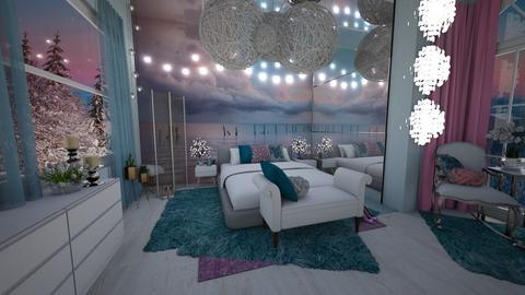 Special wall bedroom - Bedroom - by BliNosif