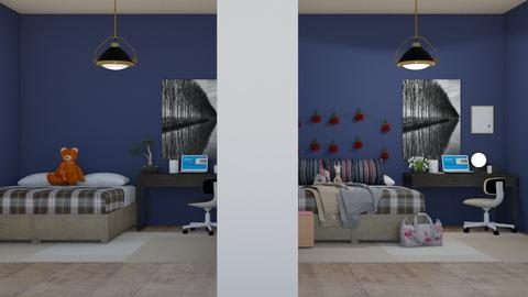 before_after - Bedroom - by RaeCam