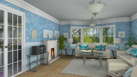 Livingroom for Martha - Classic - Living room - by Bibiche