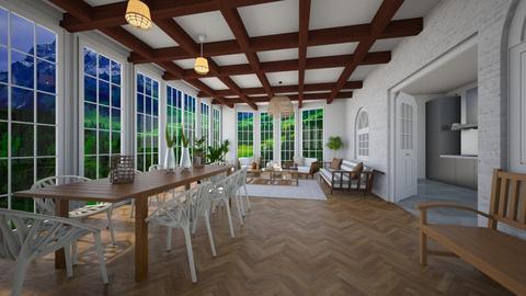 veranda - Garden - by nuray kalkan