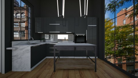 Casa149Kitchen - Masculine - Kitchen - by nickynunes