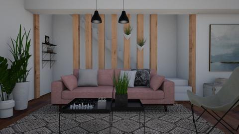 Pillars - Living room - by Tuitsi
