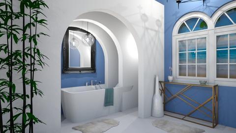 modern bathroom - Modern - Bathroom - by LMR