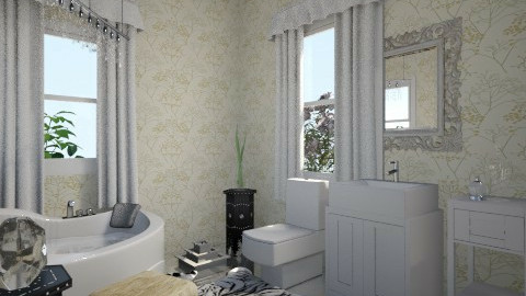 Modern bathroom  - Modern - by moderatetosevereburns
