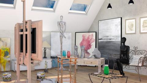 Artist Workshop - by Sally Simpson