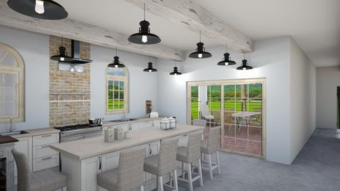 Retirement Home_Kitchen - Kitchen - by pokeystyles