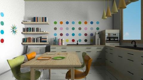 modcitykitchen - Modern - Kitchen - by Ariadne491