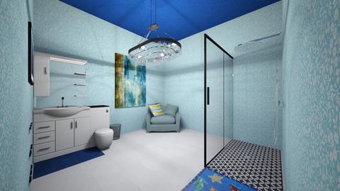 Random ABCya Ocean BR - Modern - Bathroom - by Makena Holdaas