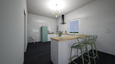 Future flat 3 - Kitchen - by MaluMeyer